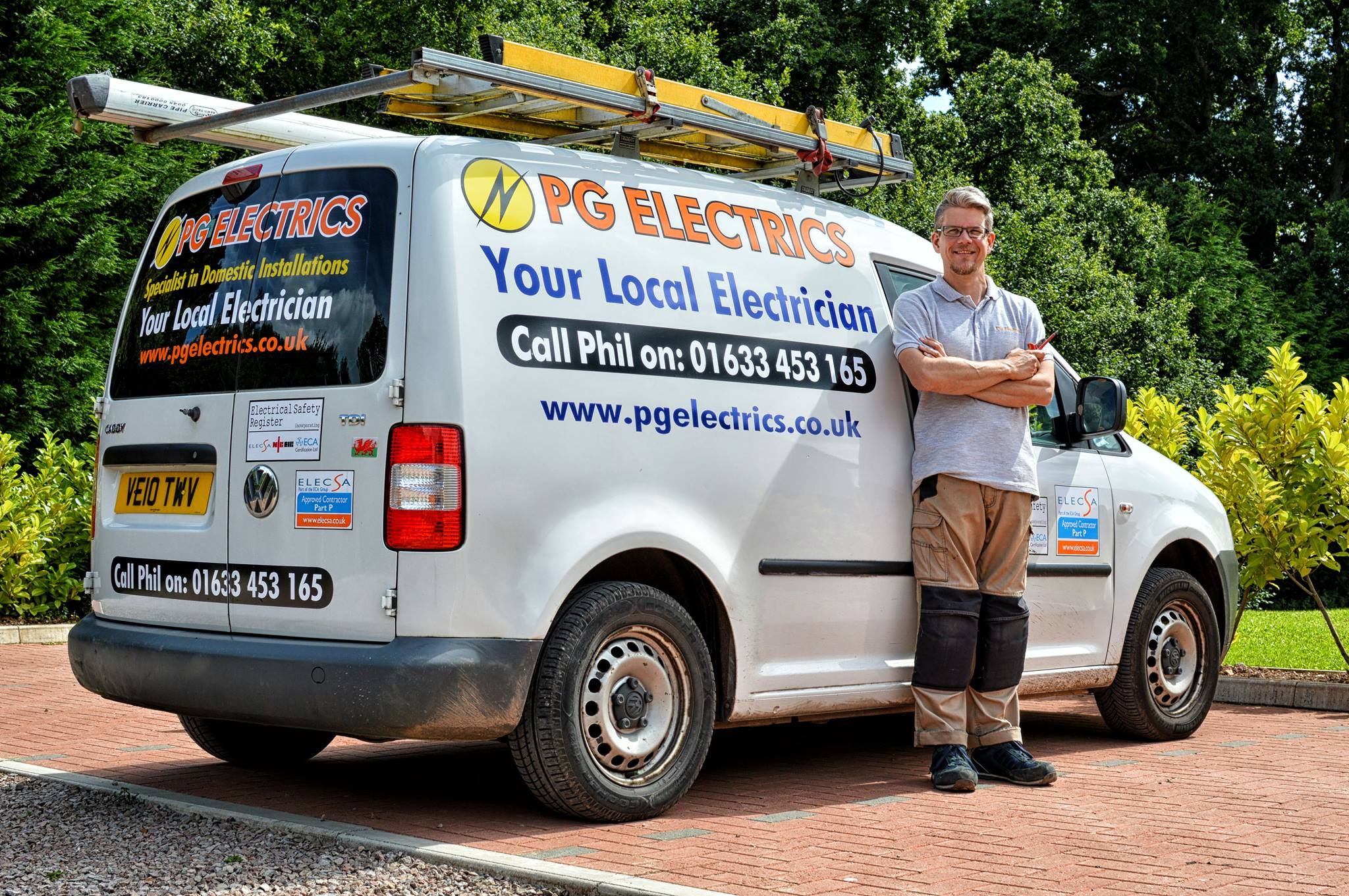 domestic electrician in cwmbran