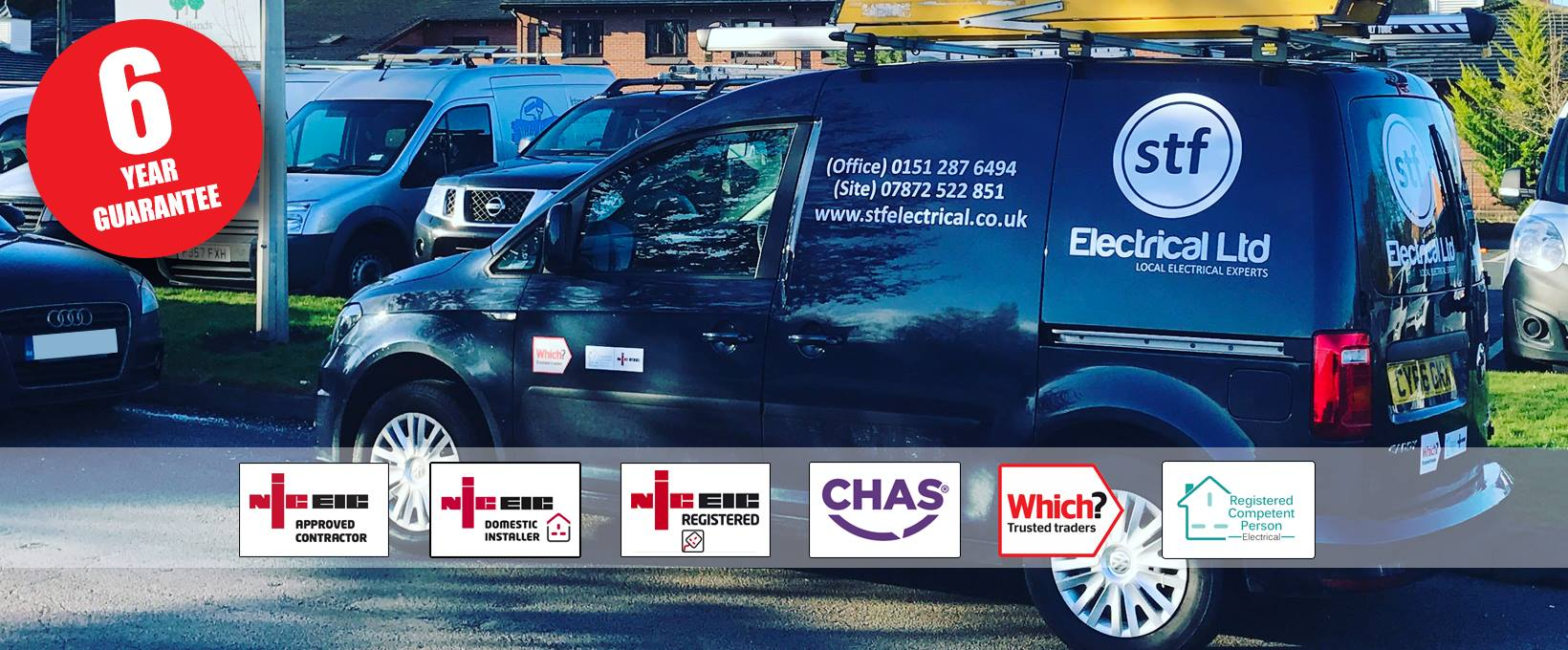 STF Electrical Ltd - Your local electrical expert in Liverpool