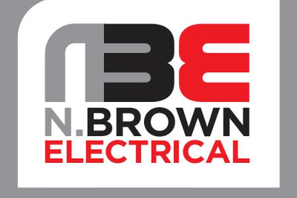 N.Brown Electrical logo