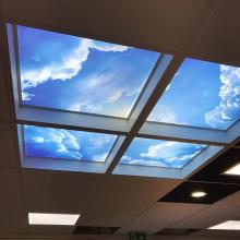 600x600 ceiling light with sky graphics - STF Electrical Ltd