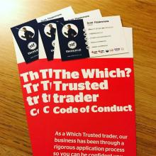 We are a Which? Trusted Trader - STF Electrical Ltd