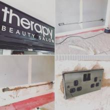 Additional sockets in a beauty salon in Maghull, Liverpool - STF Electrical Ltd