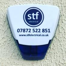 STF bellbox from our security alarm systems - STF Electrical Ltd