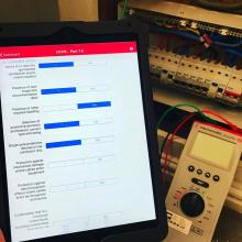 STF use iPads to complete certification - STF Electrical Ltd
