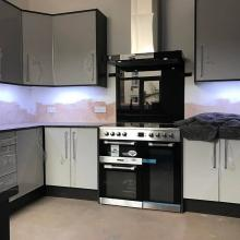 Electrical installation in a kitchen in Aintree, Liverpool - STF Electrical Ltd