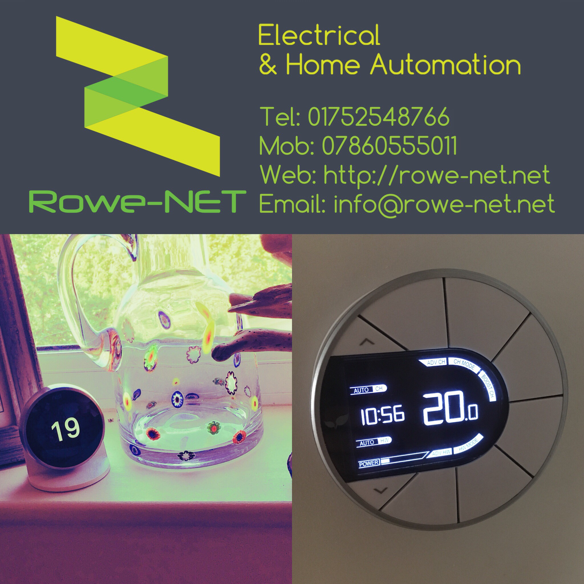 rowe net smart heating controls iot smarthome nest rated